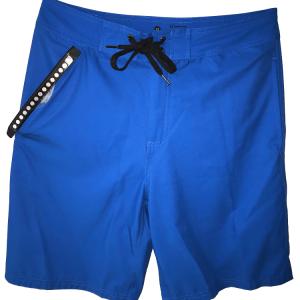 front of blue waterproof bathing suit